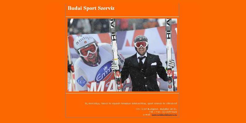 Budai Sport Szerviz