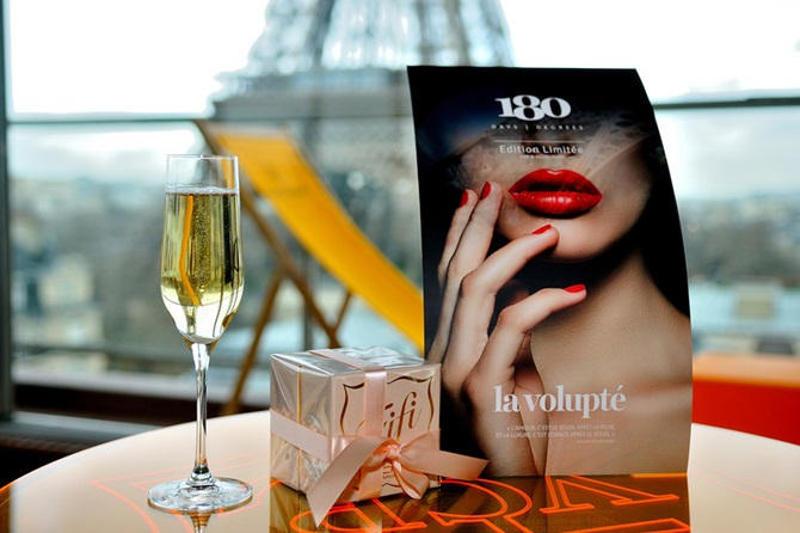 Étterem kilátással az Eiffel toronyra